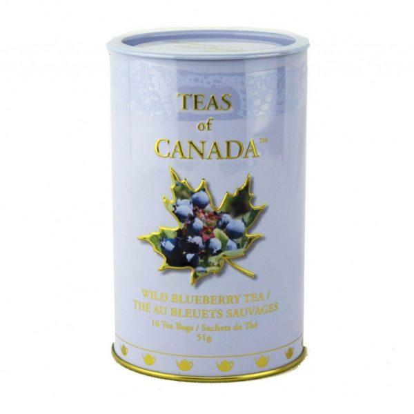 Wild Blueberry Tea 51g -16 tbgs Tin