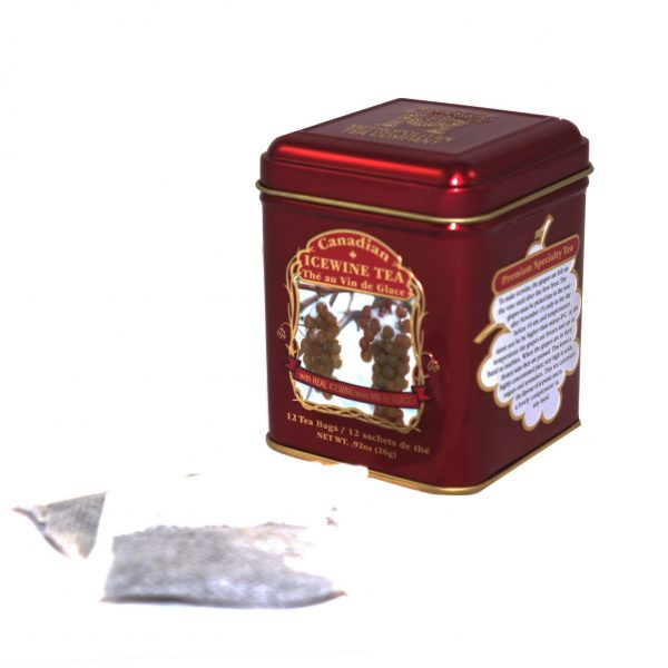 Canadian Icewine Tea 26g – 12 tbgs Tin