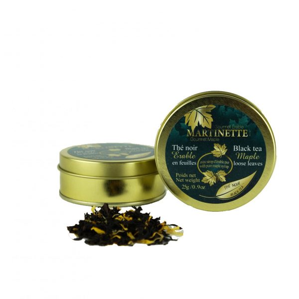 Maple Black Tea 25g – Loose leaves Tin