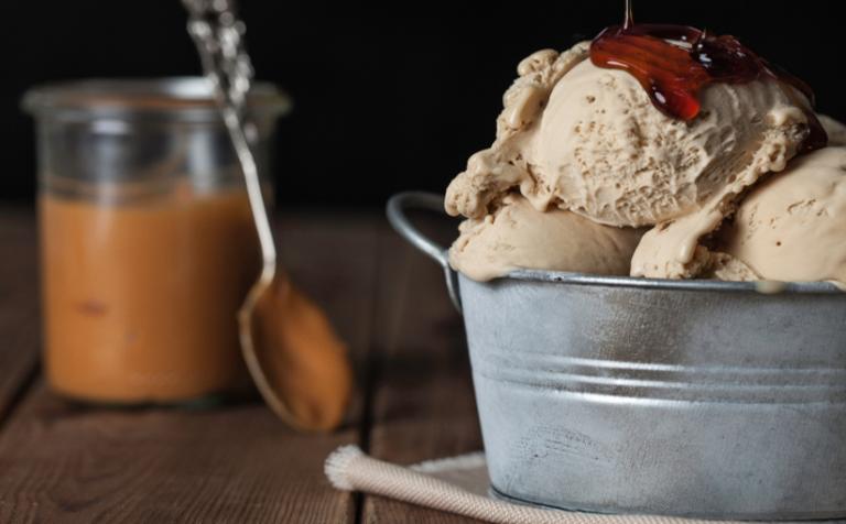Maple Syrup ice cream