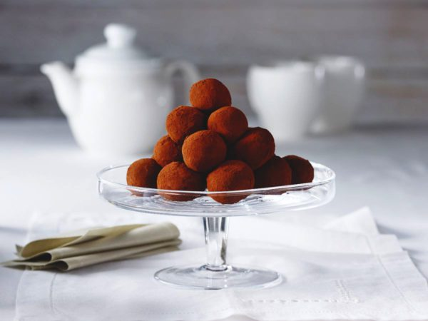 Maple-Almond Truffles