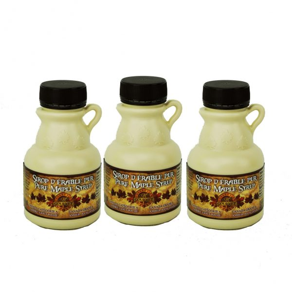 Pure maple syrup 3x100ml CANADA A- Amber, Rich Taste
