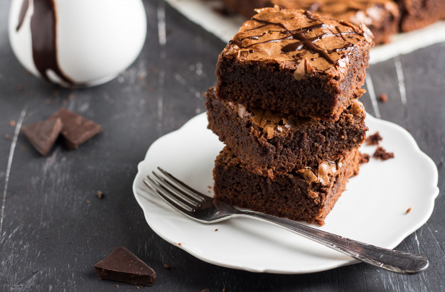 Decadent Maple Brownies
