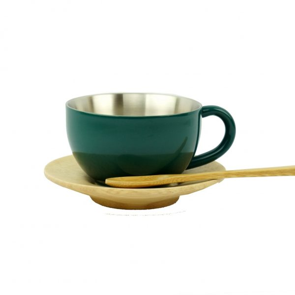 Tea cup – Dark green