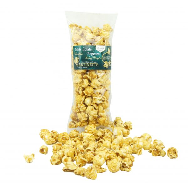 Salty Maple Popcorn 130g (with fleur de sel)