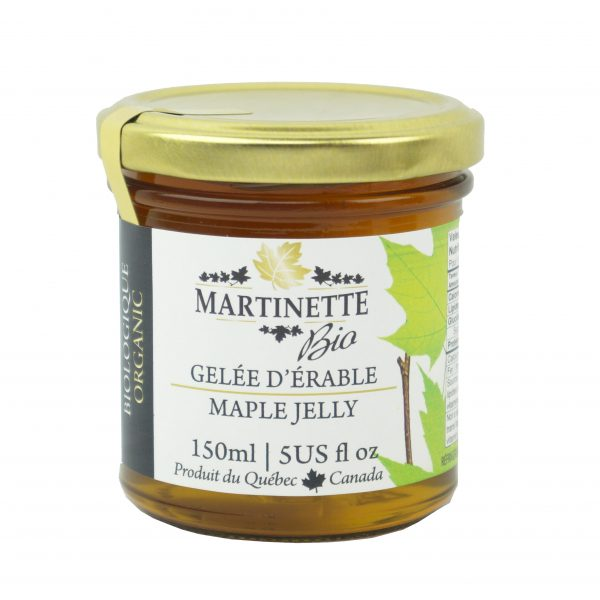 Organic Maple jelly 150 ml