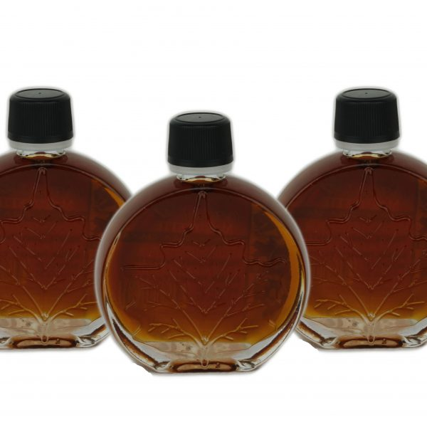 Pure maple syrup – DARK, Robust taste 3x50ml Medallions O'CANADA