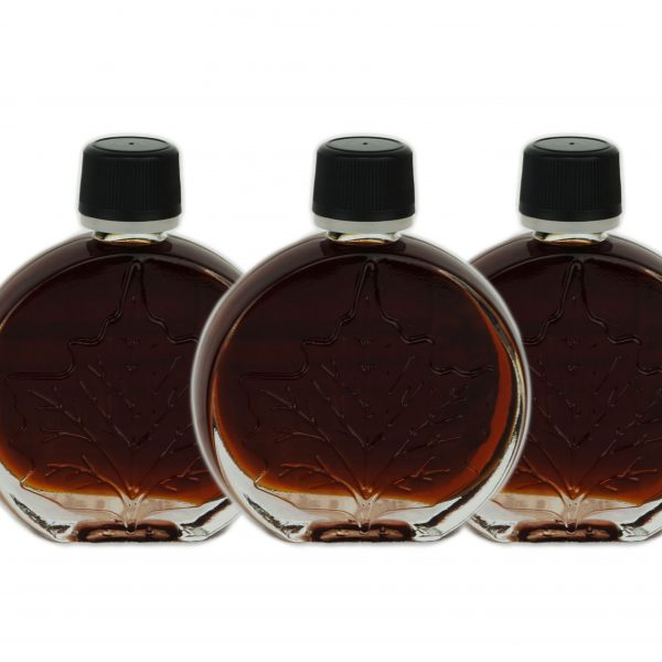 Pure maple syrup – VERY DARK, Strong taste 3x50ml Medallions O'CANADA